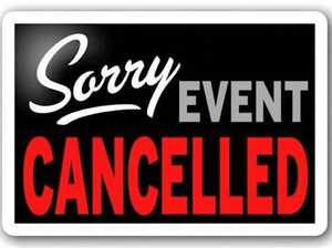 SHOCK ANNOUNCEMENT: Beloved Bay event cancelled
