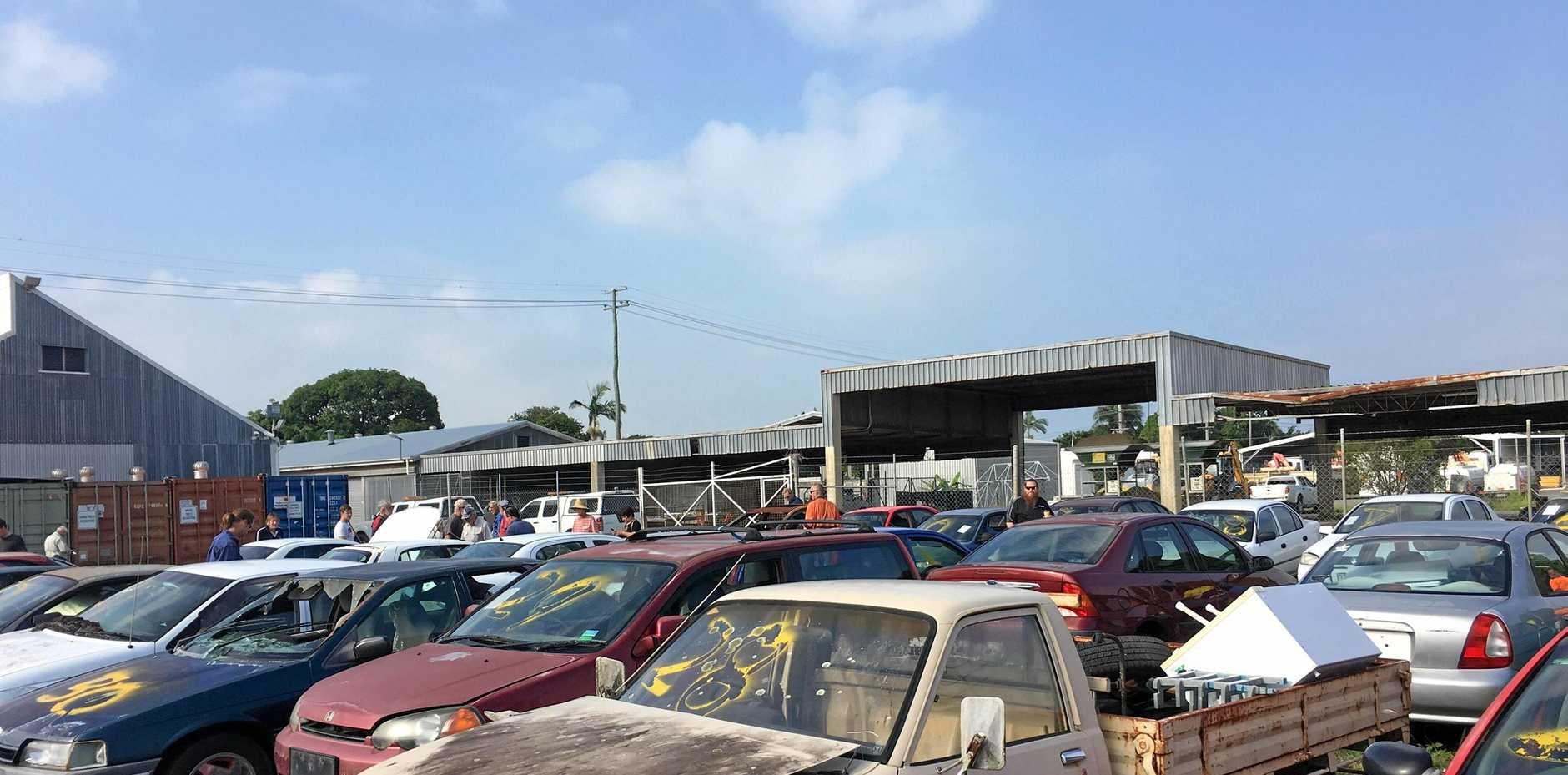 Council's abandoned car auction is packed with action.