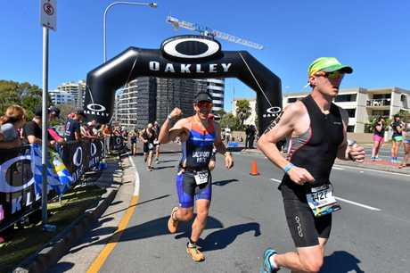 Action from the 2016 Ironman 70.3 World Championship.