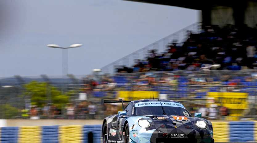 Matt Campbell is one of the three drivers of the Dempsey-Proton Racing team for the Le Mans 24 Hour this weekend.