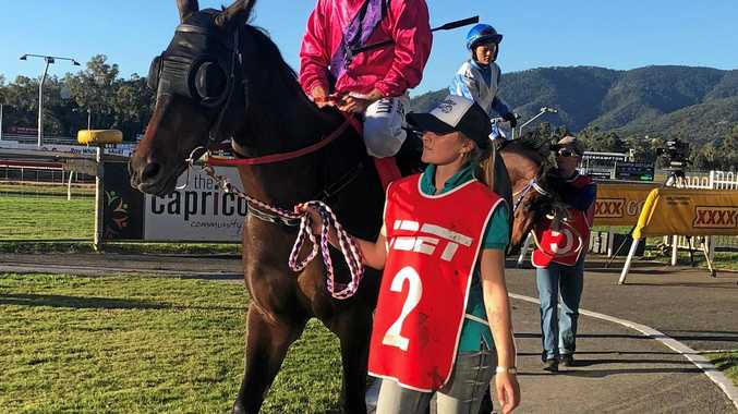 ON TRACK: Leading apprentice Lachlan Dodds.