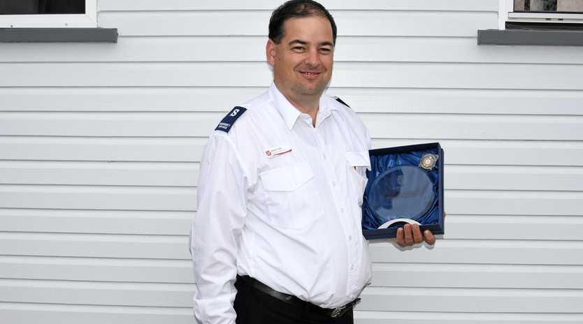 COMMONWEALTH GAMES EXCELLENCE: Emergency Services Co-ordinator for Queensland Adam Cole received the Salvation Army Emergency Services award of encouragement for his involvement coordinating projects during the commonwealth games.