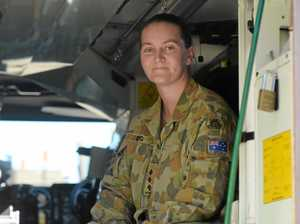 Look inside a real Australian Army vehicle at the Rocky show