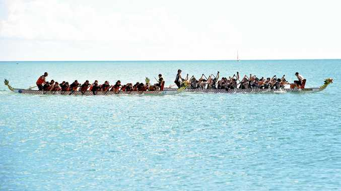 PADDLE FOR PRIDE: Hervey Bay Dragon Boat Club will host the second round of the Greater Wide Bay Series Regatta tomorrow.