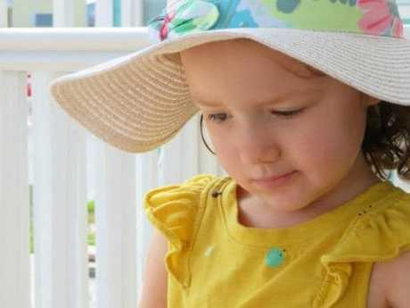 Four-year-old Addy bravely fought brain cancer for over a year before losing her life earlier this month. Picture: Facebook.