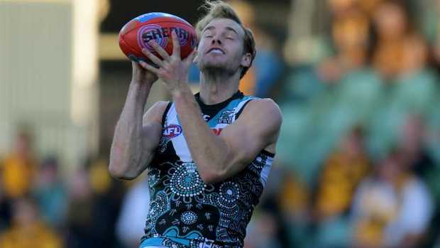 Jack Watts has been dropped by Port Adelaide. Picture: AAP Images