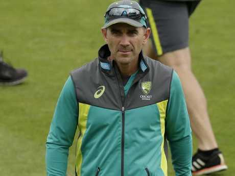Justin Langer was shocked.