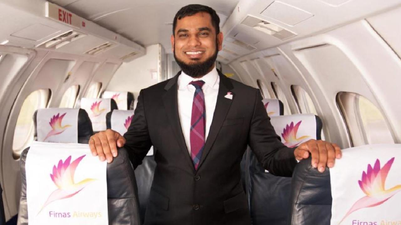 A UK documentary follows London entrepreneur Kazi Shafiqur Rahman in his bid to launch Britain's first sharia-compliant airline. Picture: Channel 4