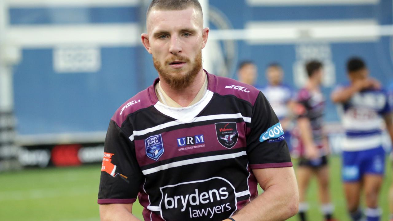 Jackson Hastings may yet be called up, with Manly coach Trent Barrett running out of options. Picture: Christian Gilles