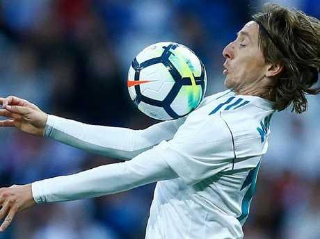 Croatian fans are hopomg Luka Modric will inspire a big run in Russia.