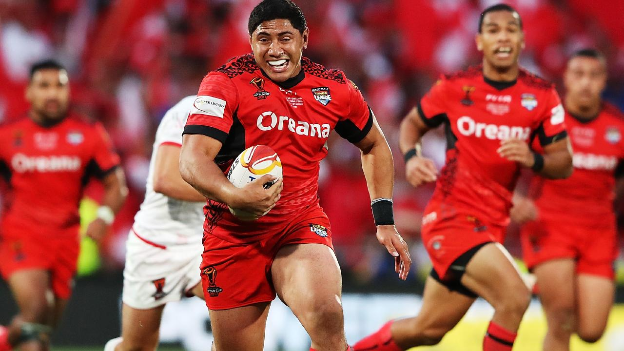 Jason Taumalolo will line up for Tonga. (Photo by Hannah Peters/Getty Images)