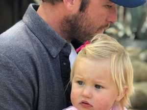 Olympian's tragic post after daughter's death