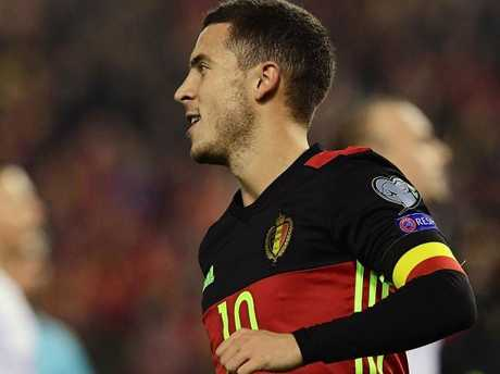 Eden Hazard will be out to impress on the world stage.