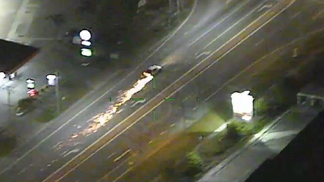 Screenshot of a car chase through Arundel