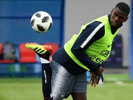 Paul Pogba has all the tricks — but can he deliver for Les Bleus? Pic: AFP