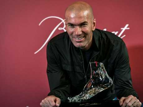 Zinedine Zidane stunned the soccer world when he stood down