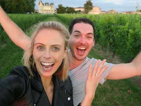 Peter Stefanovic said he always knew he would end up with wife Sylvia Jeffreys.