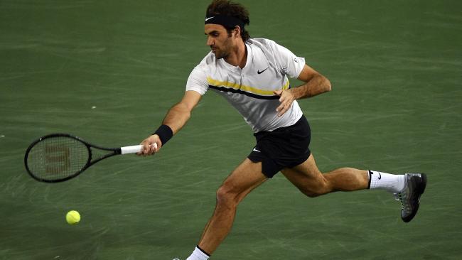 Roger Federer will make his return to the court in Stuttgart. Photo: Kevork Djansezian/Getty Images