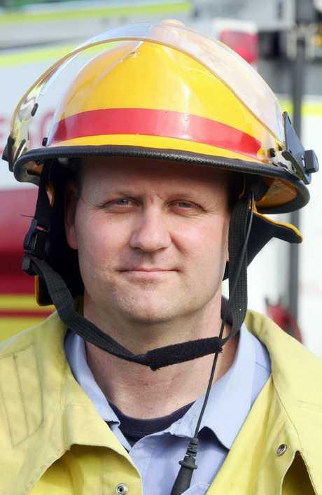 Beenleigh Fire Station officer Russell Von Nida.
