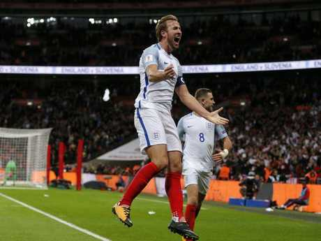 Can Harry Kane drag England to success in Russia? Pic: AP
