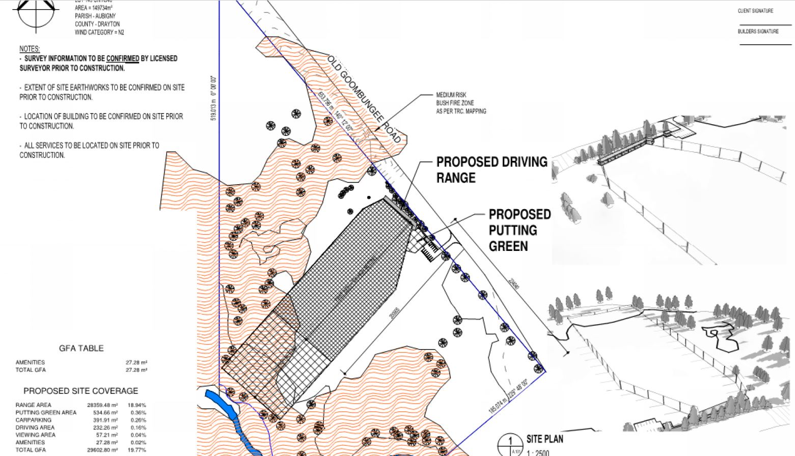 Driving range proposed north of Toowoomba.