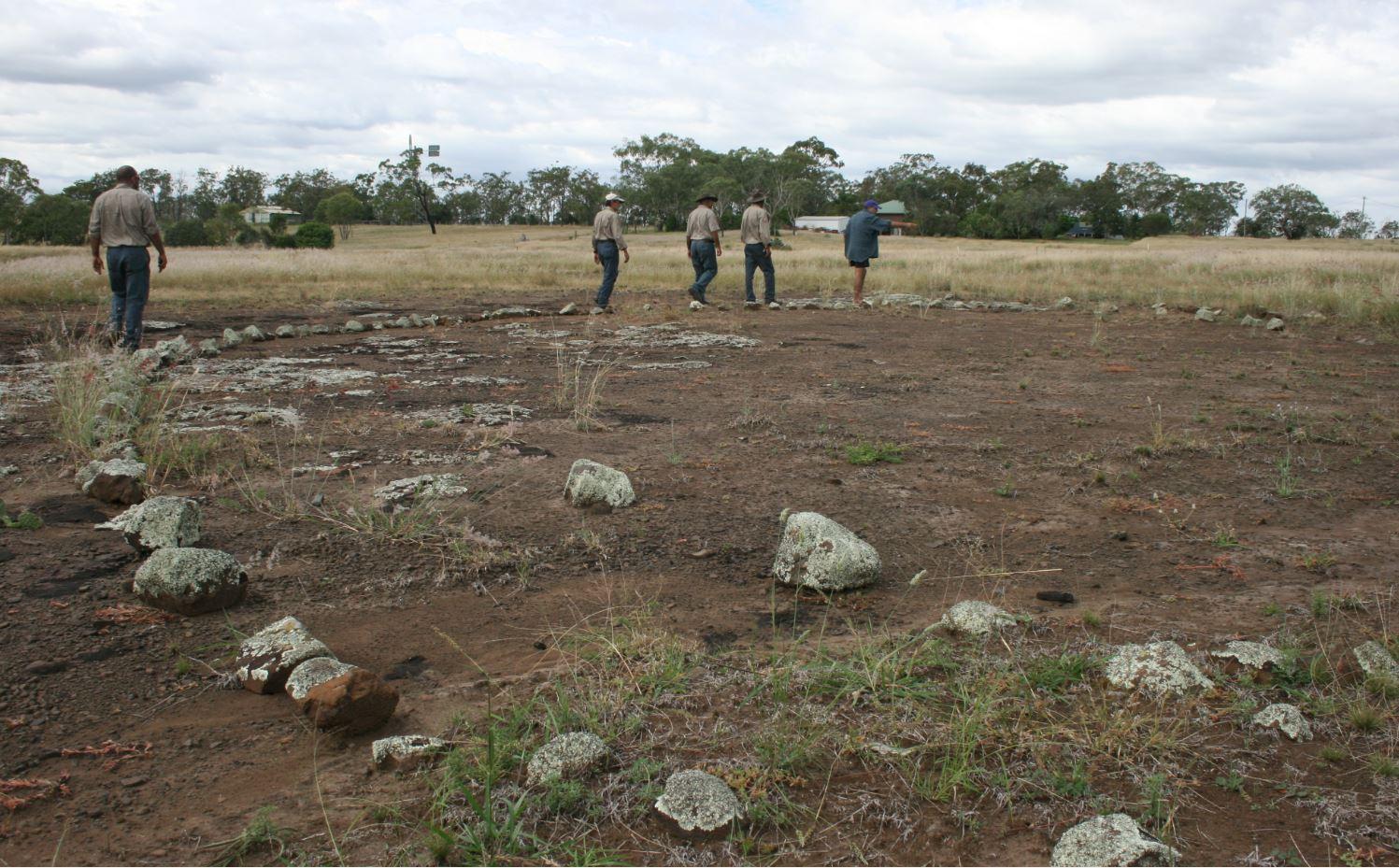 Gummingurru is an Aboriginal Bora, or ceremonial site north of Toowoomba.