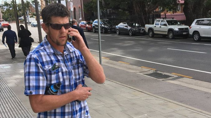 IRATE DAD. Ipswich dad Timothy Voigt says he was worried about children's safety from speeding drivers when he jumped onto an Ipswich City Council mower and verbally abused its driver. He pleaded guilty in court to causing public nuisance at Leichhardt.