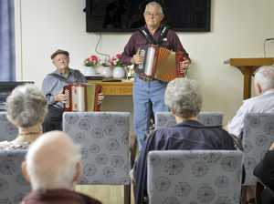 Accordion fun at Colthup Aged Care
