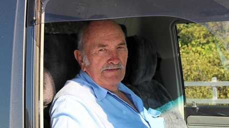 RIGHTS ON THE ROAD: Victor Jacobsen was a truckie for 55 years and said long-distance drivers faced disgusting conditions like pit toilets, no showers and noisy, congested bays.