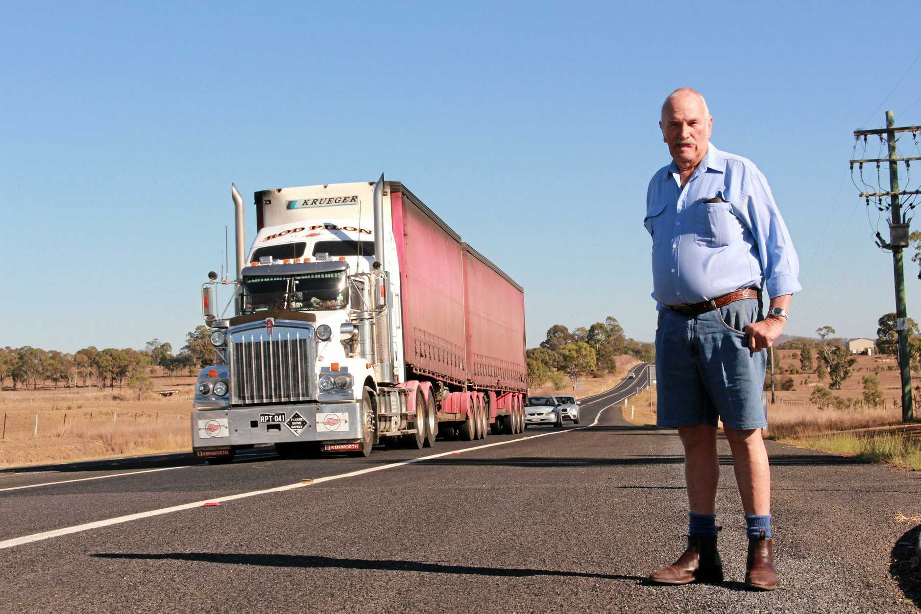 Victor Jacobsen was a truckie for 55 years and said long-distance drivers faced disgusting conditions as the industry peak body calls for a review of truck stop guidelines.