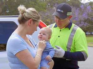 1200 babies locked in cars