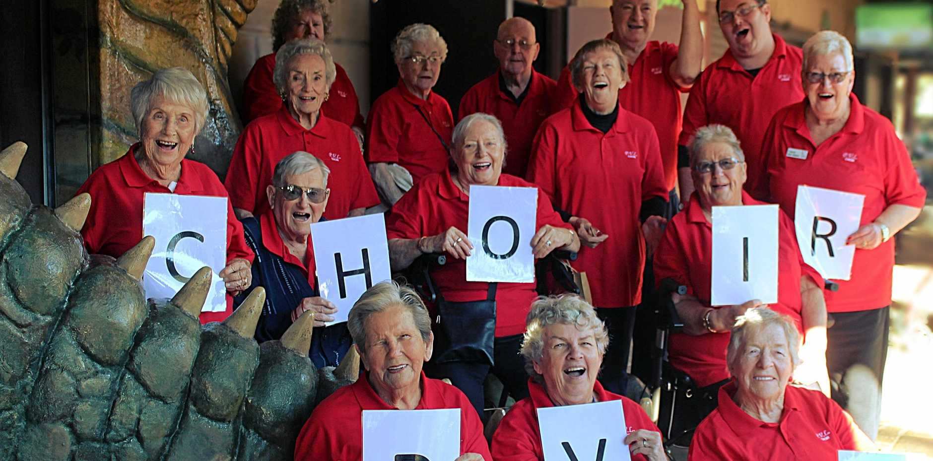 The Peninsula Villages Aged (PVL) Choir is open to anyone retired in the Umina/Woy Woy area who enjoys belting out a tune.