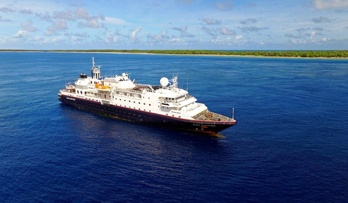 JUST CRUISIN': Silver Discoverer is equipped with 12 Zodiac boats as well as a glass-bottom boat.