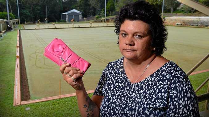 NOT HAPPY: Sherrin Spencer had her handbag stolen at Palmwoods Bowls Club on Wednesday night full of cash.