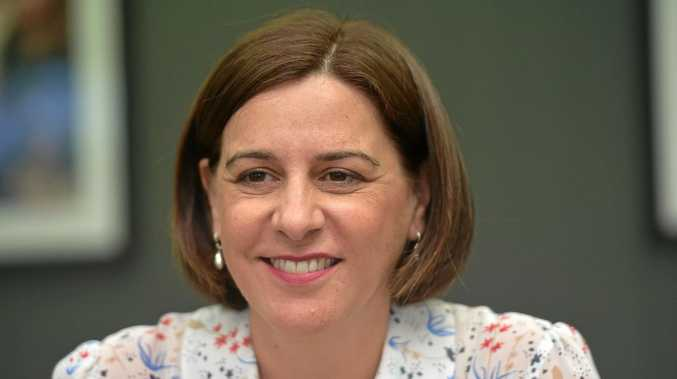 NEW PLAN: Leader of the Liberal National Party Deb Frecklington revealed a new strategy to shake up the regional electricity market.