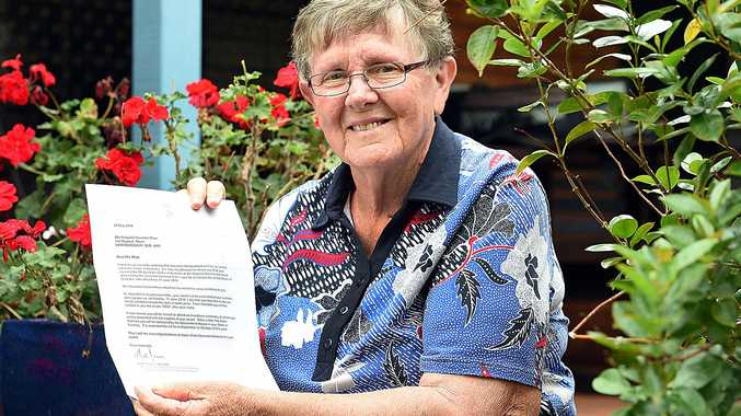 HARD WORK RECOGNISED: Margaret Wroe, OAM, has been recognised for her tireless work in the Maryborough community.