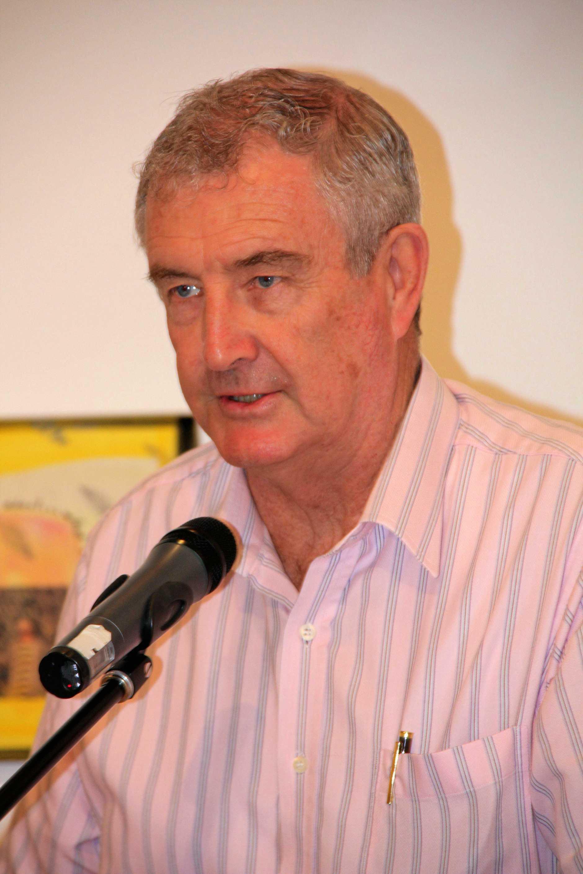 Former Gympie Mayor Ron Dyne.