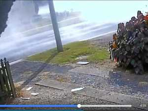 WATCH: Ipswich residents woken by burnouts