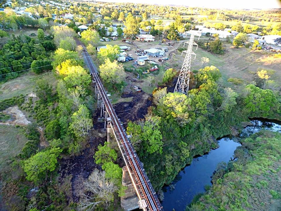 Deep Creek Bridge.