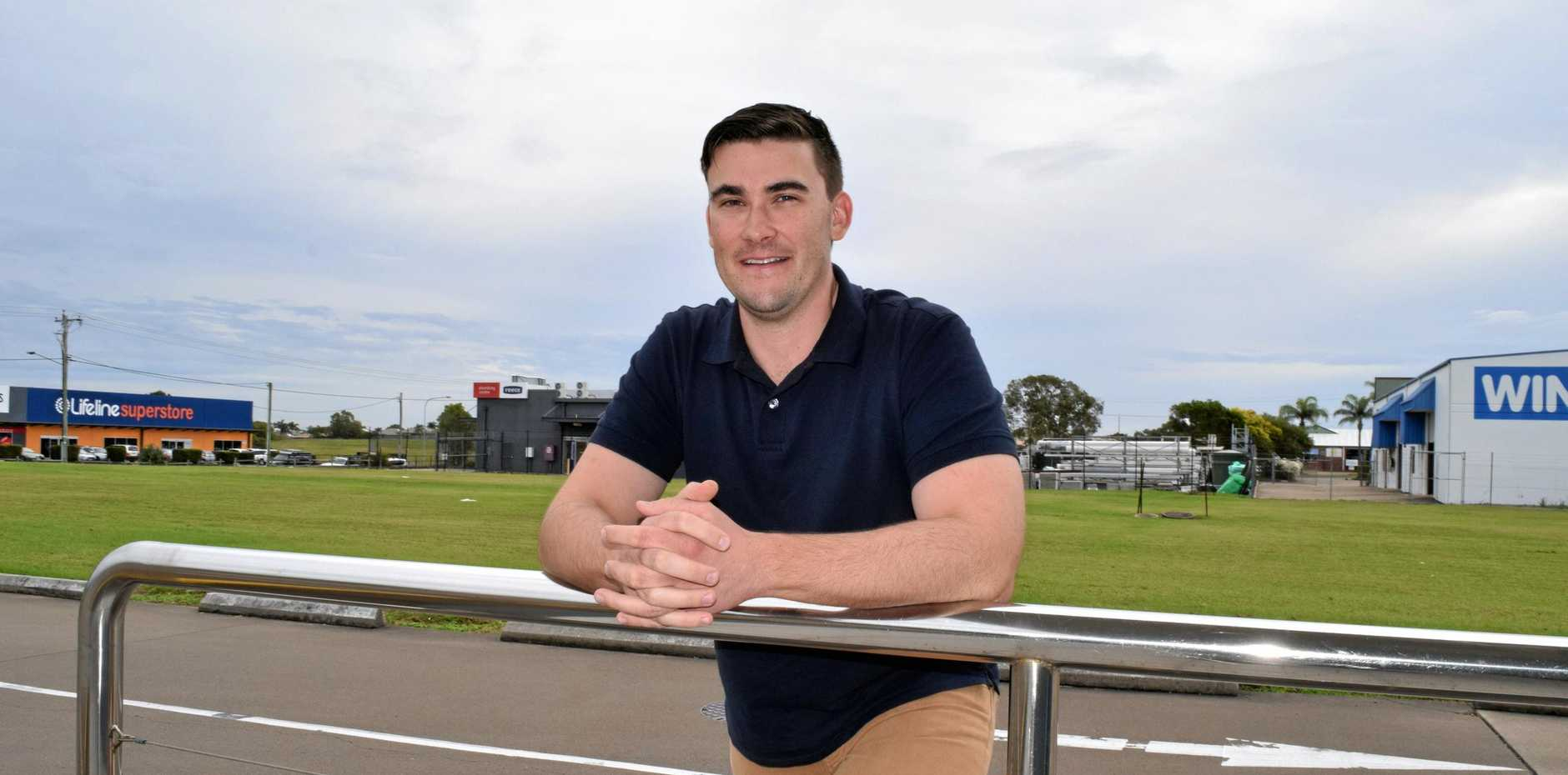 NEW CANDIDATE: Granville resident Lachlan Cosgrove has entered the race to become Division 10's new councillor.
