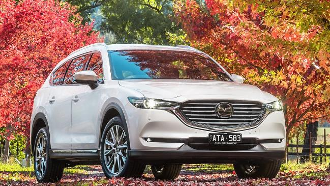 The CX-8 slots in between the CX-5 and larger CX-9. Picture: Thomas Wielecki.
