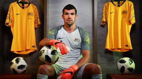 Mat Ryan has put all the doubts behind him. (Toby Zerna)