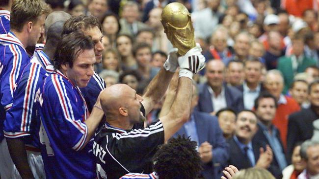 Fabien Barthez was a World Cup winner in 1998. (AFP Photo)