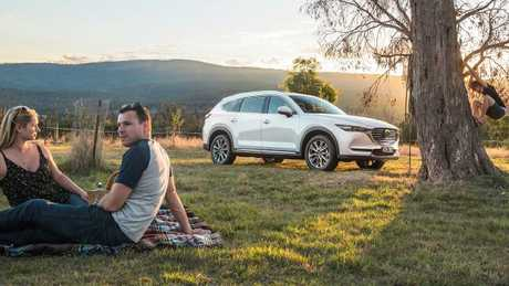 Photo of the new 2018 Mazda CX-8