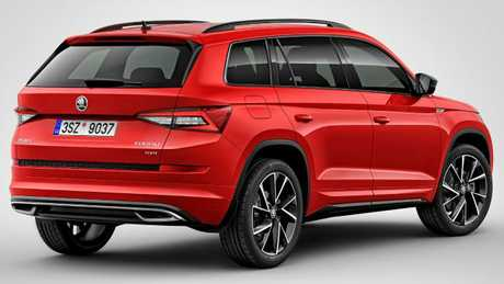 The seven-seater is fitted with 20-inch sports wheels. Picture: Supplied