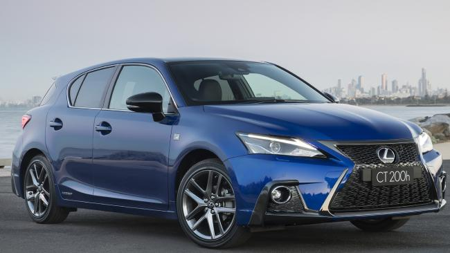 Lexus's CT200h is $5000 cheaper than usual. Picture: Supplied.
