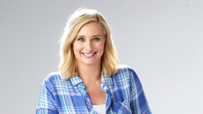 Johanna Griggs. Photo: Bob Barker. Channel 7 hosts Johanna Griggs and Basil Zempilas' extraordinary on-air spray