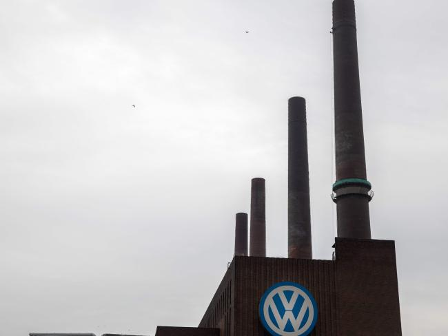 The plant of German car maker Volkswagen in Wolfsburg, central Germany. Picture: AFP Photo / Odd Anderson