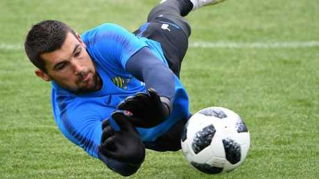 The keeper is now among the most experienced Socceroos. (AAP Image)