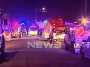 Man dead, child critical after Perth fire